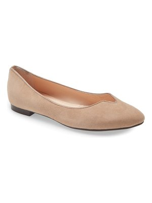 AGL notch ballet flat