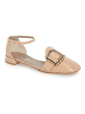 AGL ornament ankle strap flat