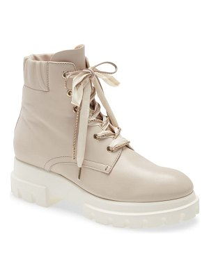 AGL scrunch collar combat boot