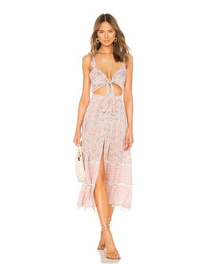 Agua Bendita x revolve karen midi dress