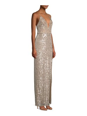 Aidan by Aidan Mattox sequin gown