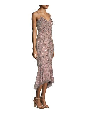 AIDAN MATTOX Embellished Mermaid Dress