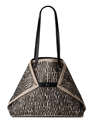AKRIS Ai Medium Girard Shoulder Tote Bag