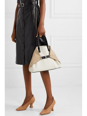 AKRIS ai small textured-leather tote