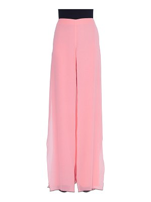 AKRIS Carmen Wide-Leg Silk Pants