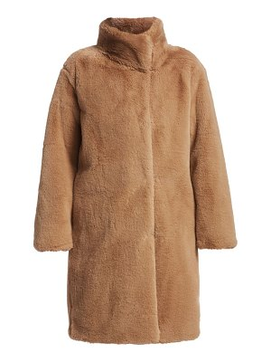 Akris punto faux fur teddy coat