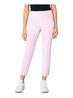Akris punto franca stretch cotton blend ankle pants
