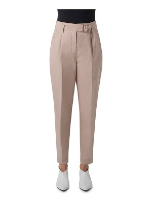 Akris punto fred belted cotton pants