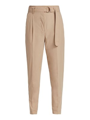 Akris punto fred poplin belted pants