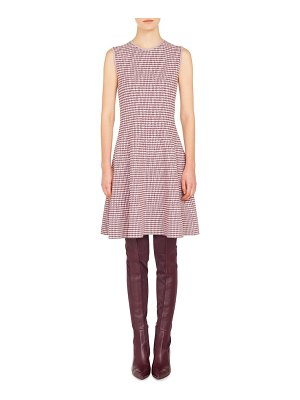 Akris punto houndstooth knit dress