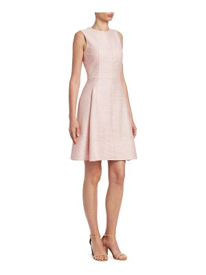 Akris punto striped silk dress