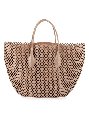 ALAIA Latifa Medium Tote Bag