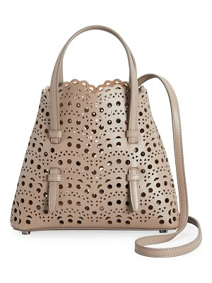 ALAIA Mina Mini Cutout Top Handle Bag