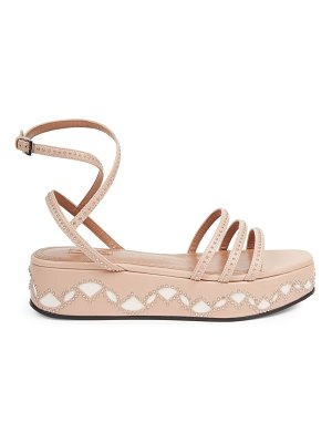 Alaïa studded leather flatform sandals