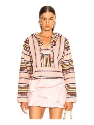 ALANUI Baja Striped Sweatshirt