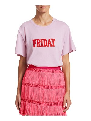 Alberta Ferretti days of the week friday t-shirt