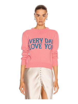 Alberta Ferretti everyday i love you sweater