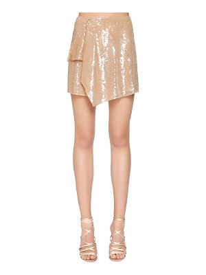 Alberta Ferretti Sequined mini skirt