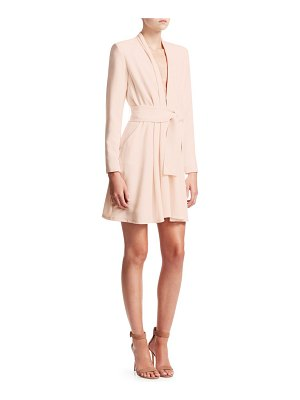 A.L.C. kiera crepe wrap dress