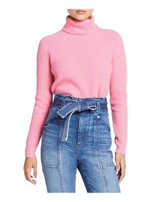 A.L.C. mitchell ribbed turtleneck sweater