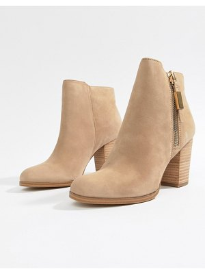 ALDO aldo leather heeled ankle boot