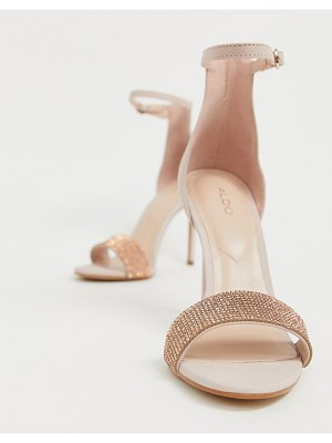 ALDO heeled leather sandals