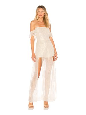 ale by alessandra x revolve betina maxi dress