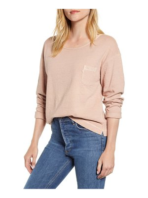 ALEX MILL double knit pocket pullover
