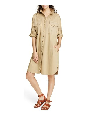 ALEX MILL military shirtdress