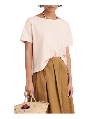 ALEX MILL slub boxy tee