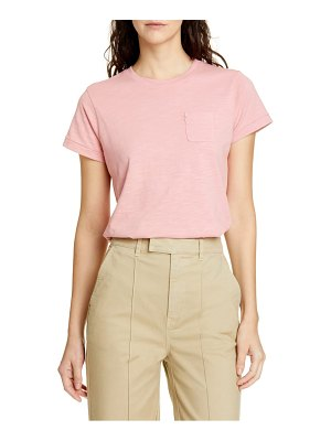 ALEX MILL slub pocket tee