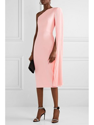 Alex Perry lorin one-shoulder crepe midi dress