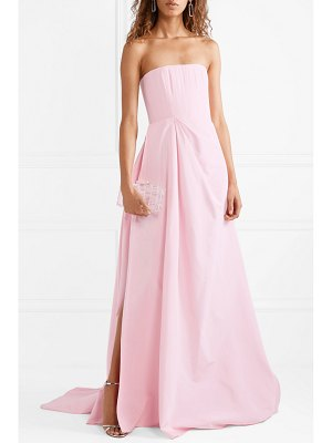 Alex Perry valeria strapless gathered silk-faille gown