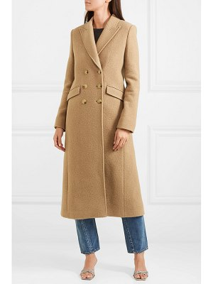 ALEXACHUNG double-breasted boiled wool coat