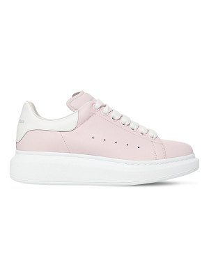 Alexander McQueen 40mm leather sneakers