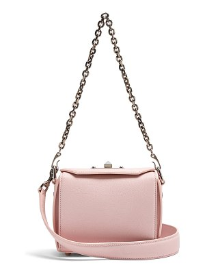 Alexander McQueen Box 16 mini grained-leather shoulder bag