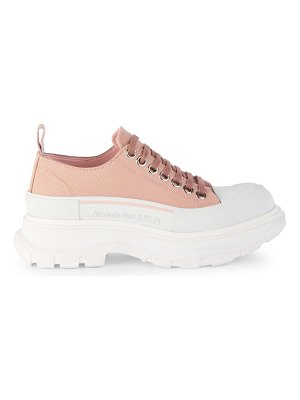 Alexander McQueen tread slick lace-up sneakers