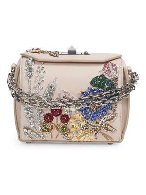 ALEXANDER MCQUEEN Embroidered Crossbody Box Bag 16