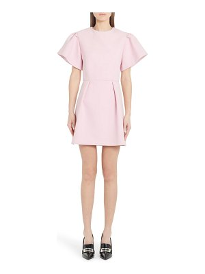 Alexander McQueen exaggerated sleeve minidress