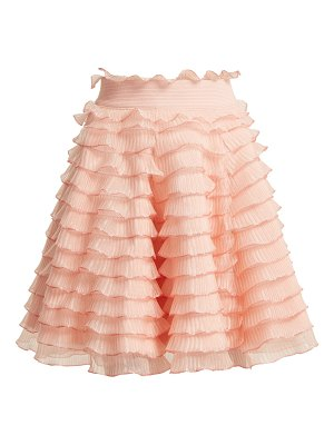 Alexander McQueen Alexander Mcqueen - High Rise Ruffled Detailed Tiered Skirt