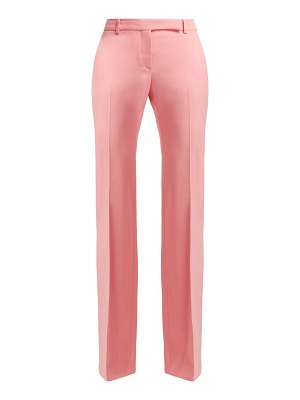 Alexander McQueen Alexander Mcqueen - Wool And Silk Crepe Trousers