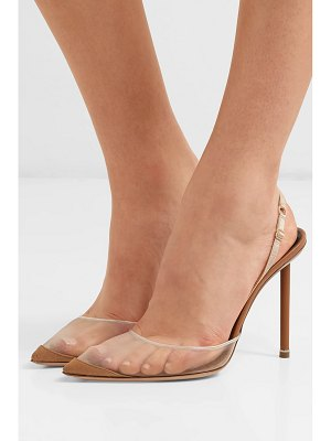 Alexander Wang alix mesh and suede slingback pumps
