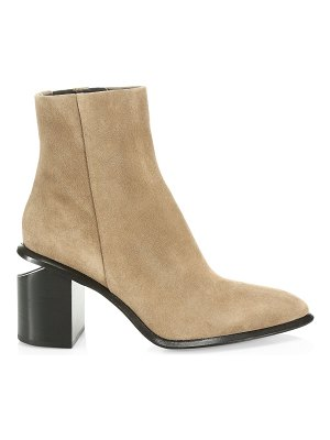 Alexander Wang anna suede ankle boots