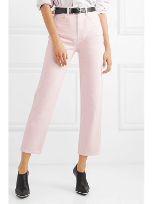 Alexander Wang bluff high-rise straight-leg jeans
