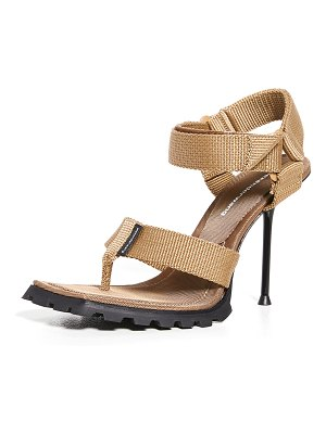 Alexander Wang julie lug sport thong sandals