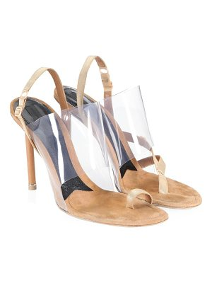 ALEXANDER WANG Kaia Pvc High Heel Sandals