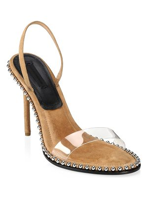 Alexander Wang nova studded stiletto sandals