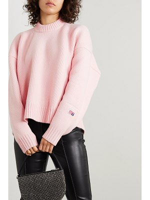 Alexander Wang oversized wool-blend sweater