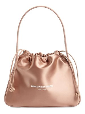 Alexander Wang Rayan small satin bag