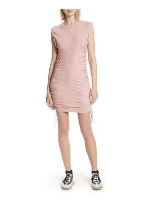 Alexander Wang ruched jersey minidress